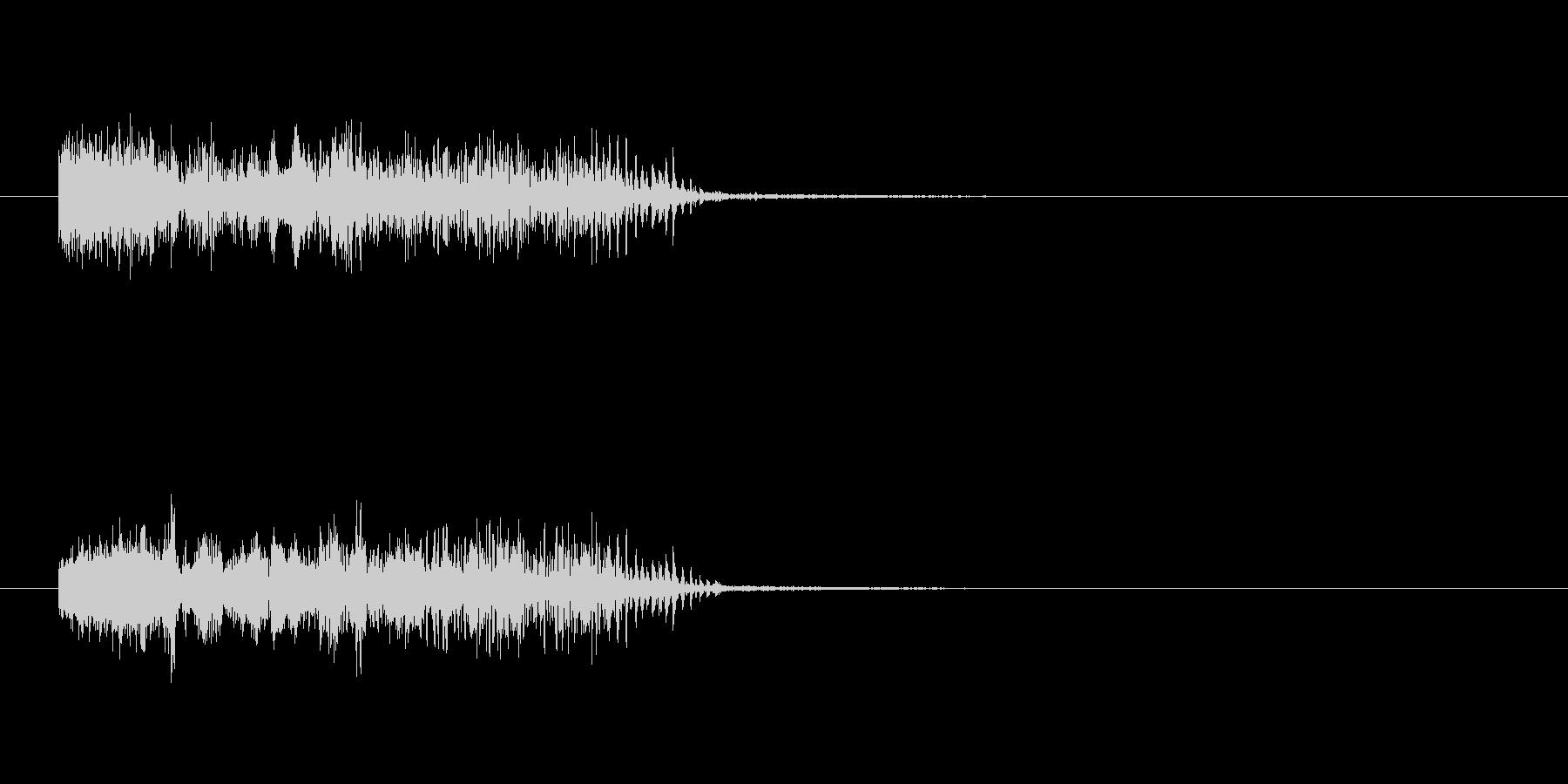 ソイヤー(お祭りなどの掛け声)の未再生の波形