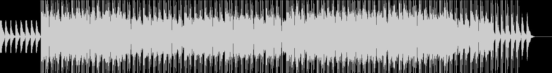 オシャレな雰囲気のBGMの未再生の波形