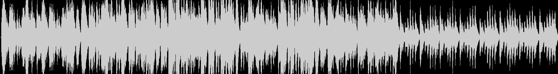 動画用ほのぼのループBGMの未再生の波形