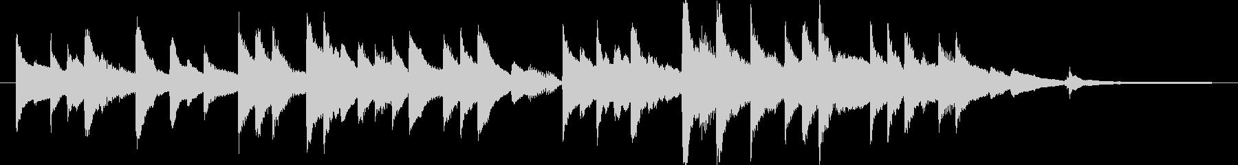 ピアノソロ/感動系/切ないの未再生の波形