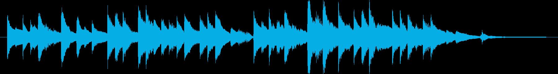 ピアノソロ/感動系/切ないの再生済みの波形