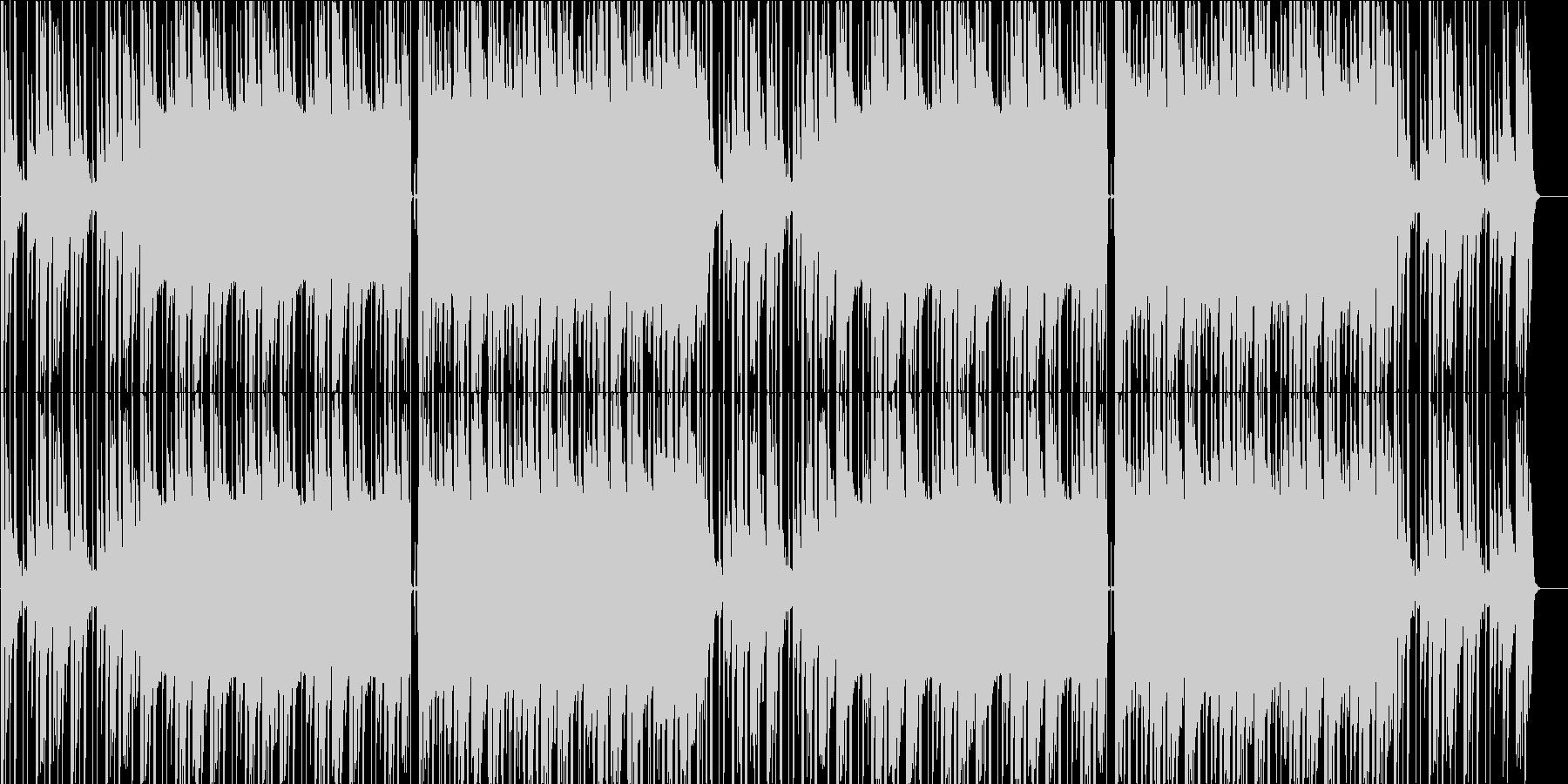 リラックスできるLO-FI曲の未再生の波形