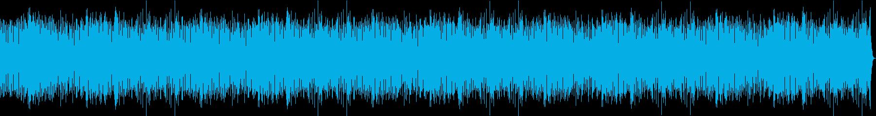 線路は続くよどこまでも 動画BGMの再生済みの波形