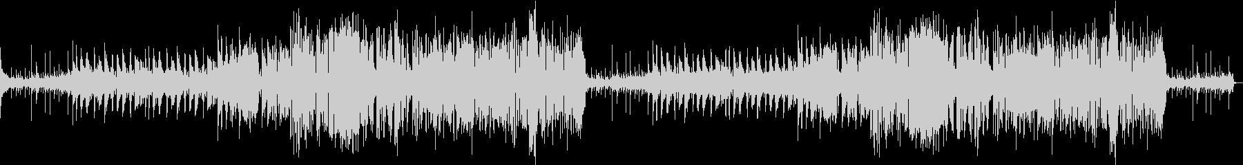 フルートとサックスの軽快なジャズの未再生の波形