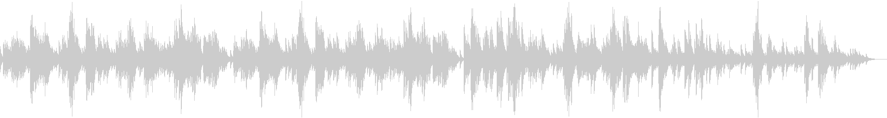 Beautiful slow piano song with beautiful melody's unreproduced waveform