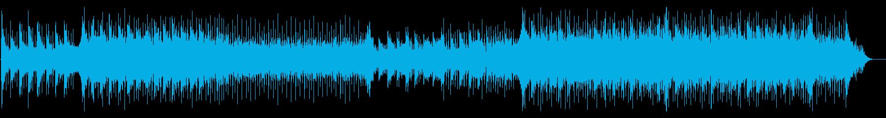 企業VP・映像BGM等に爽やかな4つ打ちの再生済みの波形
