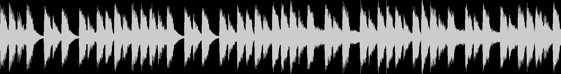 〇ッマン風のファミコンサウンド①の未再生の波形