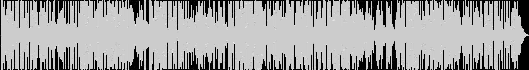 無機質な雰囲気を持つエレクトロニカBGMの未再生の波形