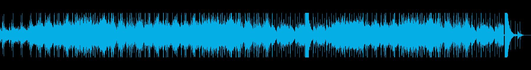 聞いているだけで怖くなるホラーのBGMの再生済みの波形