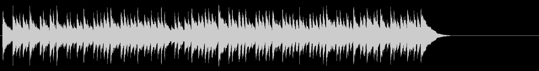 安らぐソフトなポップ(サビ)の未再生の波形