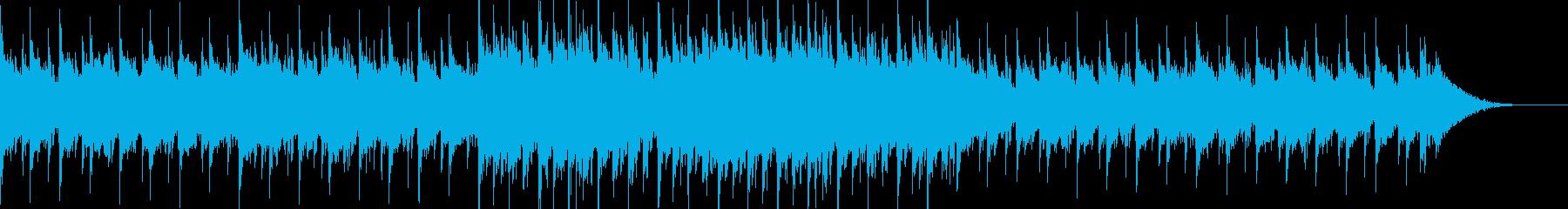 暗い感じのピアノシネマティックの再生済みの波形