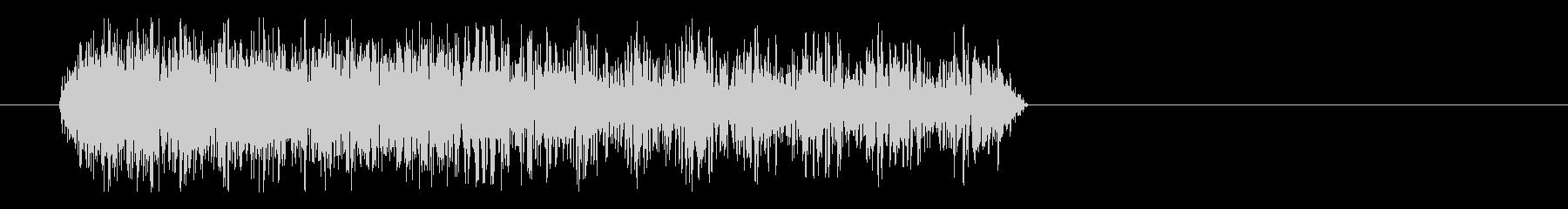 ジューンという怪しい音の未再生の波形
