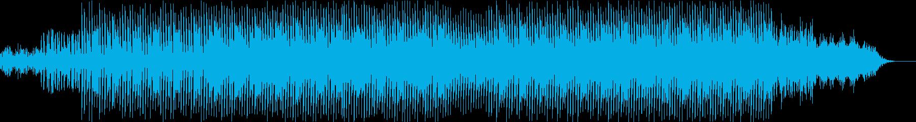 メロウで重めのダンスミュージックの再生済みの波形