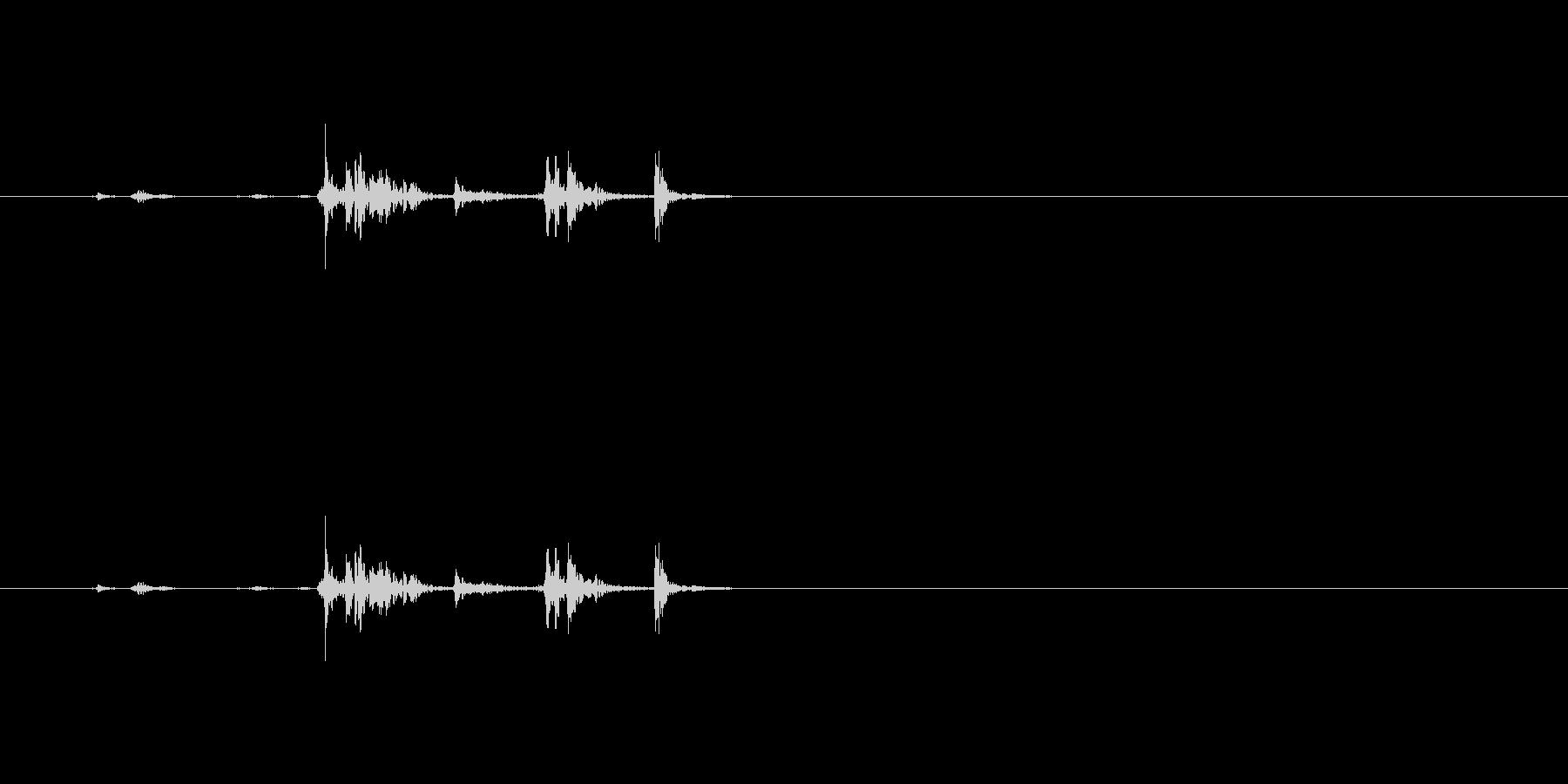 【鉛筆削り03-3(開ける)】の未再生の波形