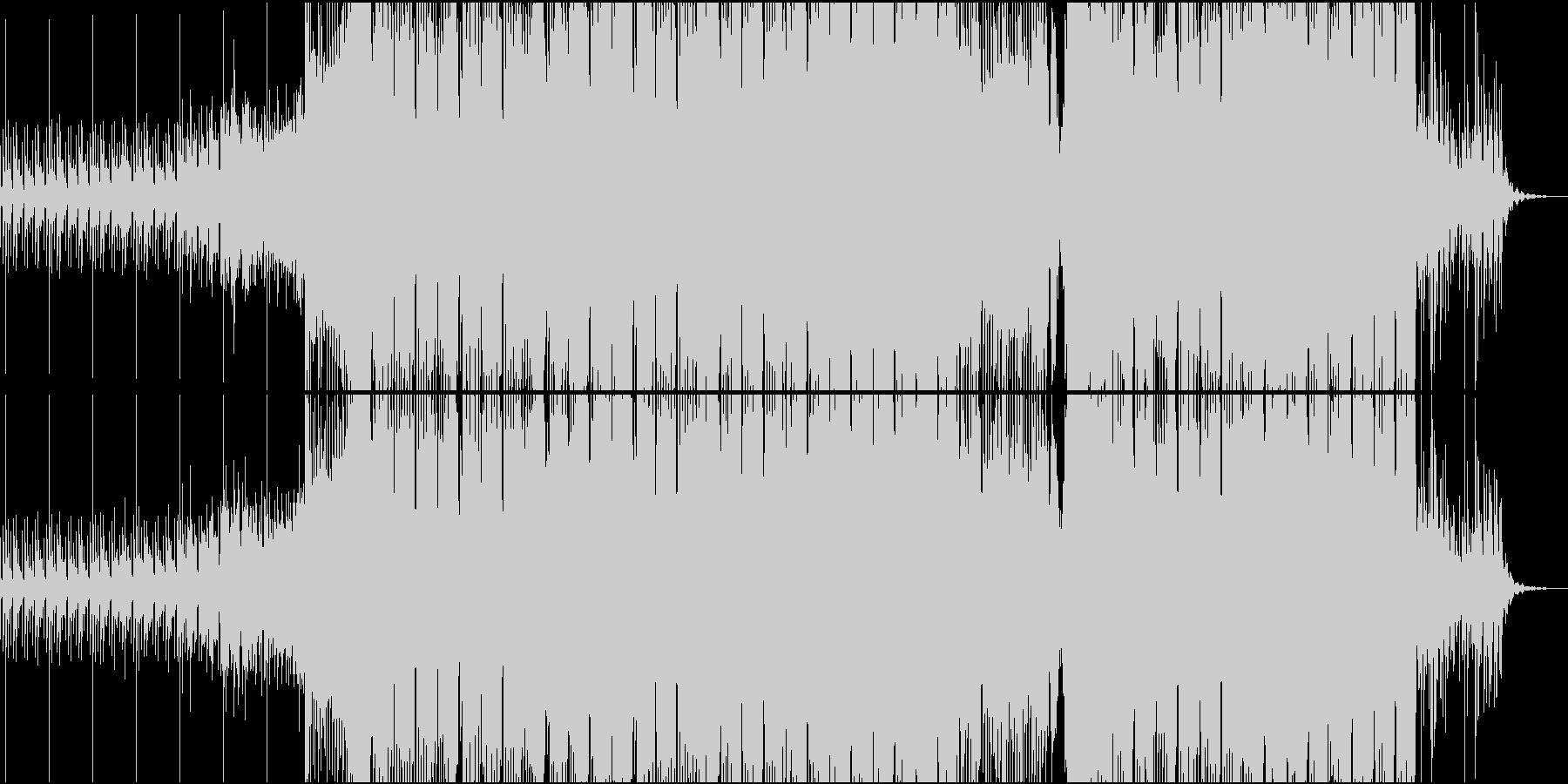 爽やかな切ないElectroの未再生の波形