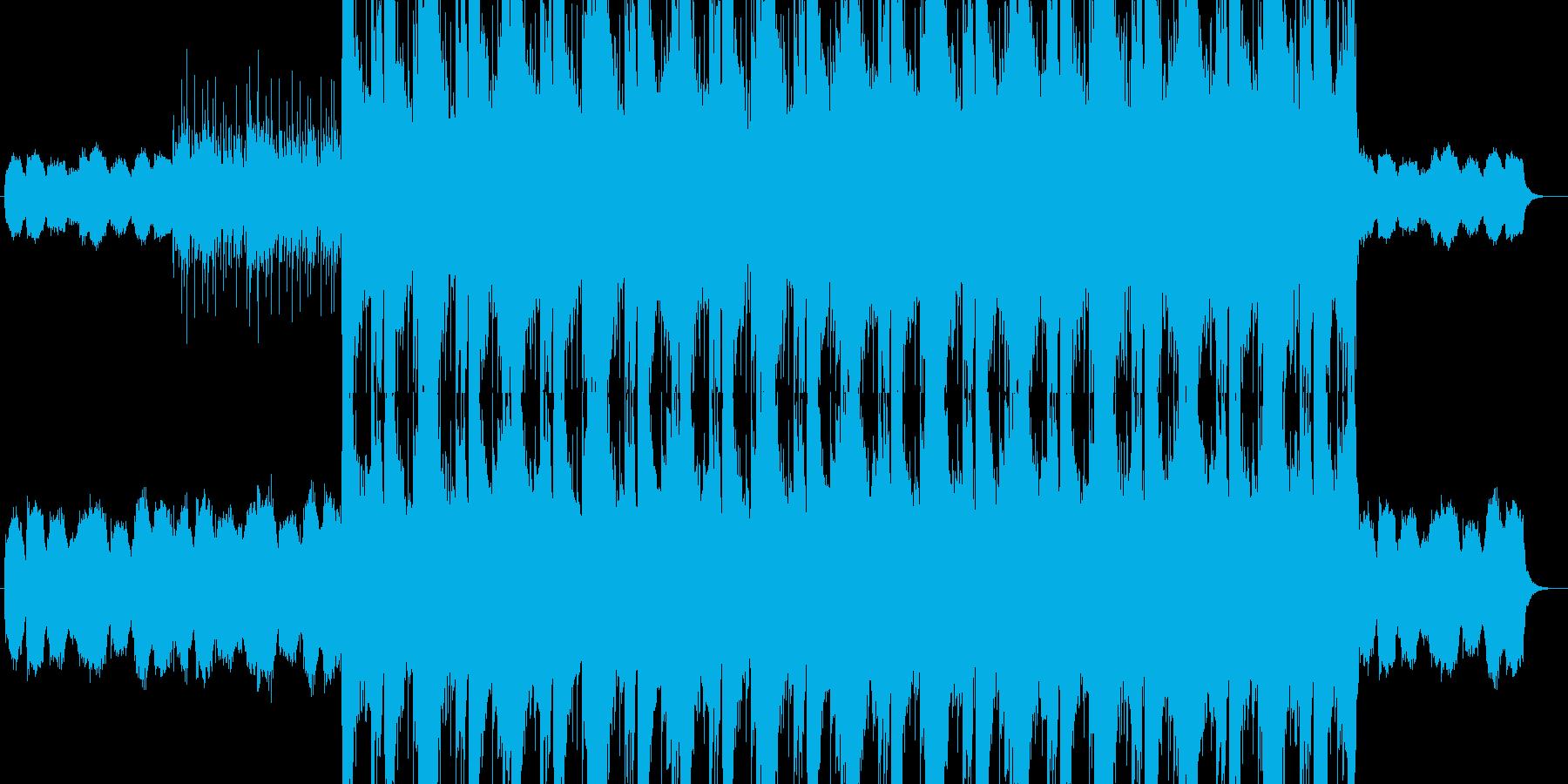 ロックバラード 哀愁の再生済みの波形
