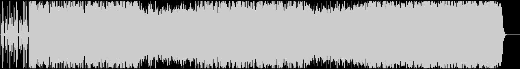 明るく前向きなオルガン・シンセの未再生の波形