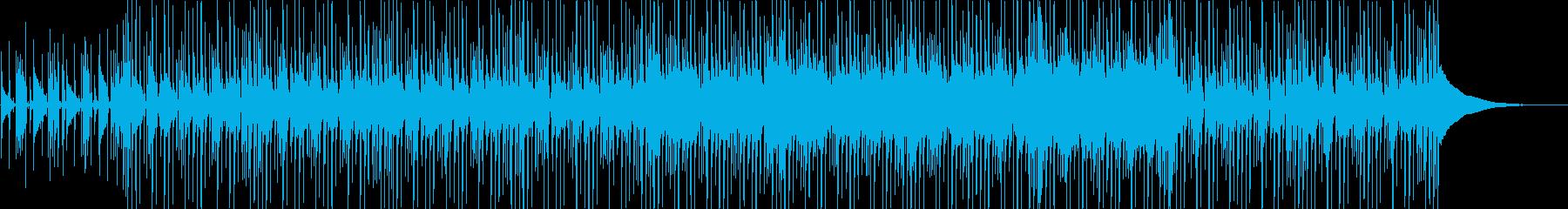 ほのぼのとした陽気なギターポップの再生済みの波形