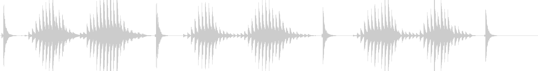 大太鼓11サザ浪歌舞伎情景描写和風和太鼓の未再生の波形