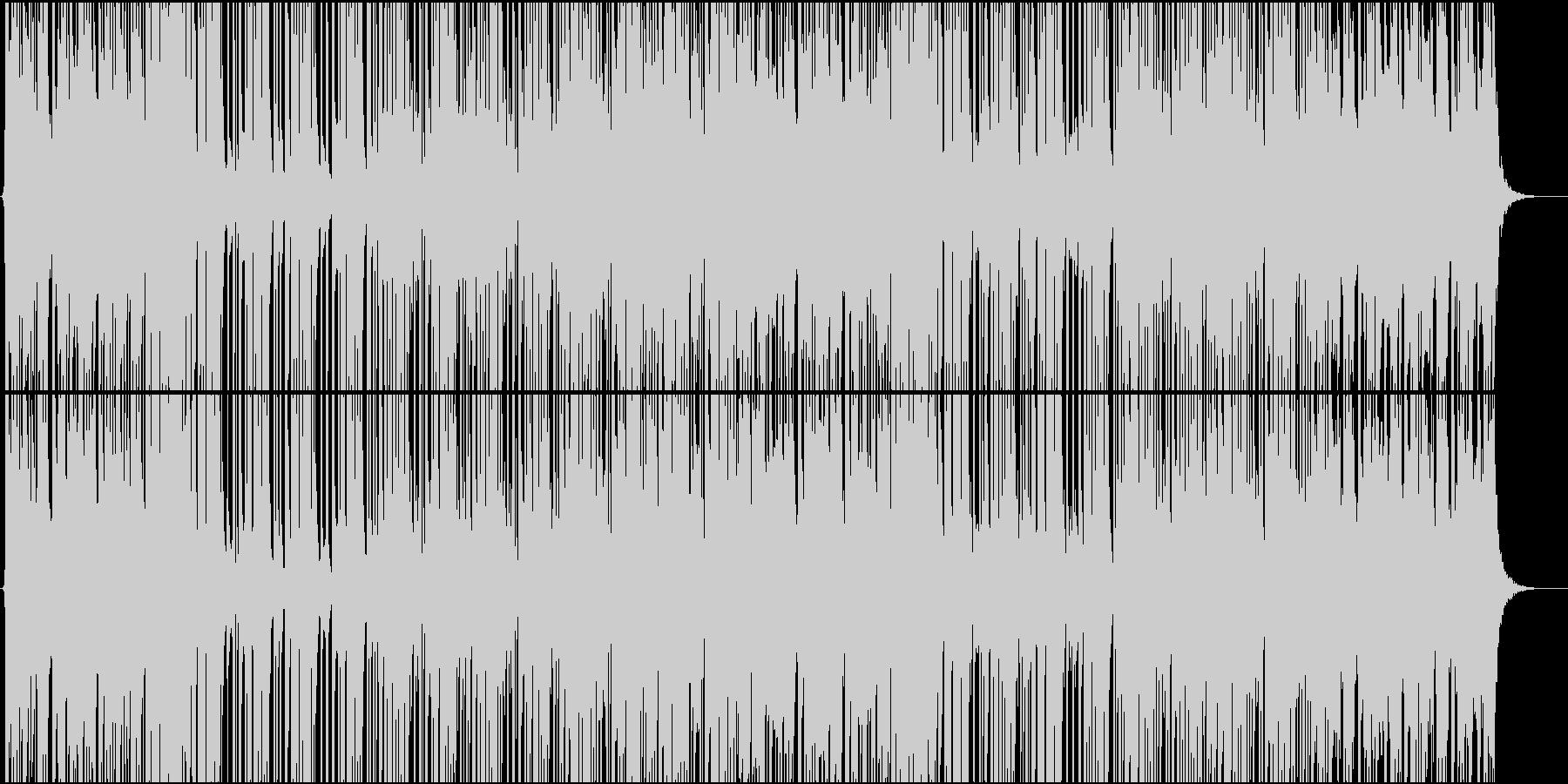 未来 ベース スタイリッシュ シン...の未再生の波形