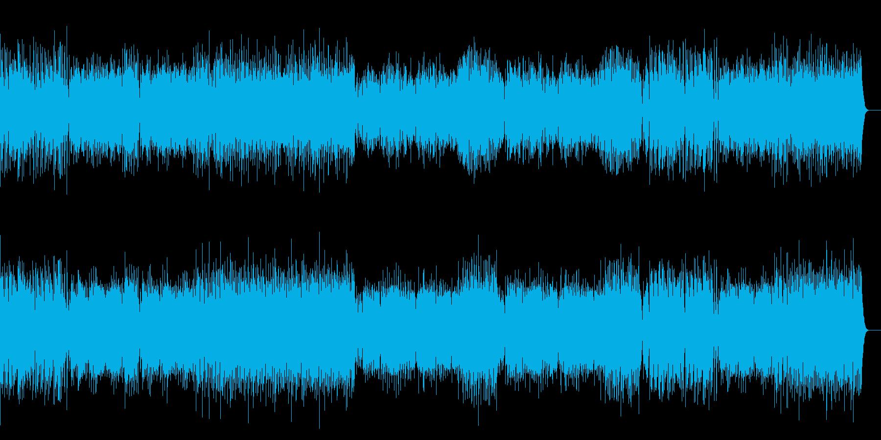 行進曲「双頭の鷲の旗の下に」の再生済みの波形