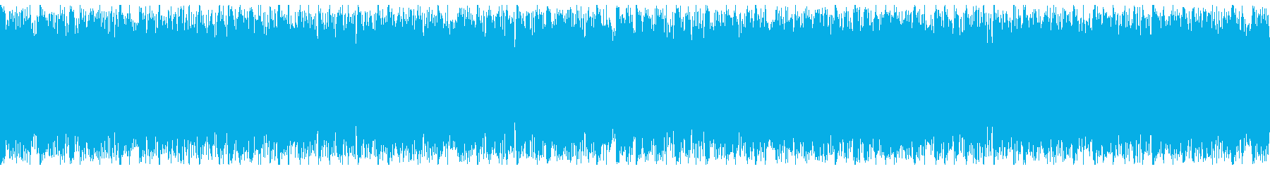 疾走感のあるSFの戦闘曲-ループ1の再生済みの波形