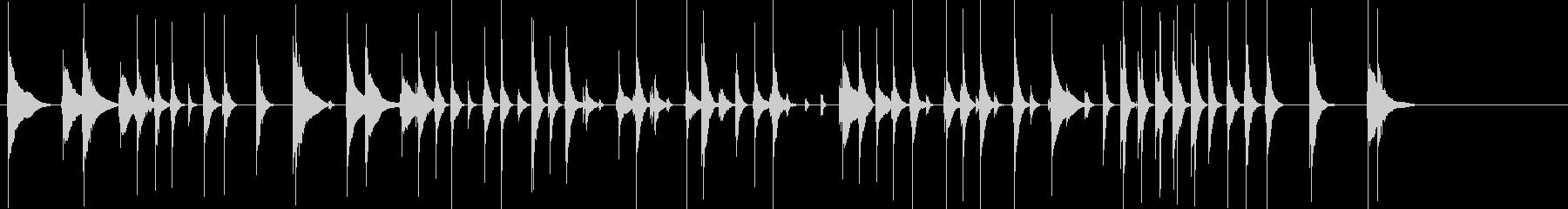 太鼓5三味線31娘道成寺10日本レビューの未再生の波形