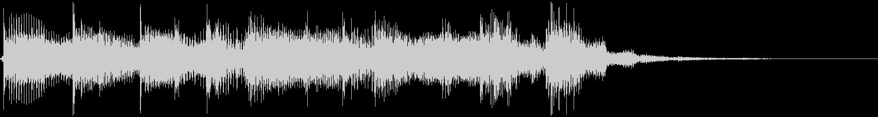 ギターのヒップホップシーンの未再生の波形
