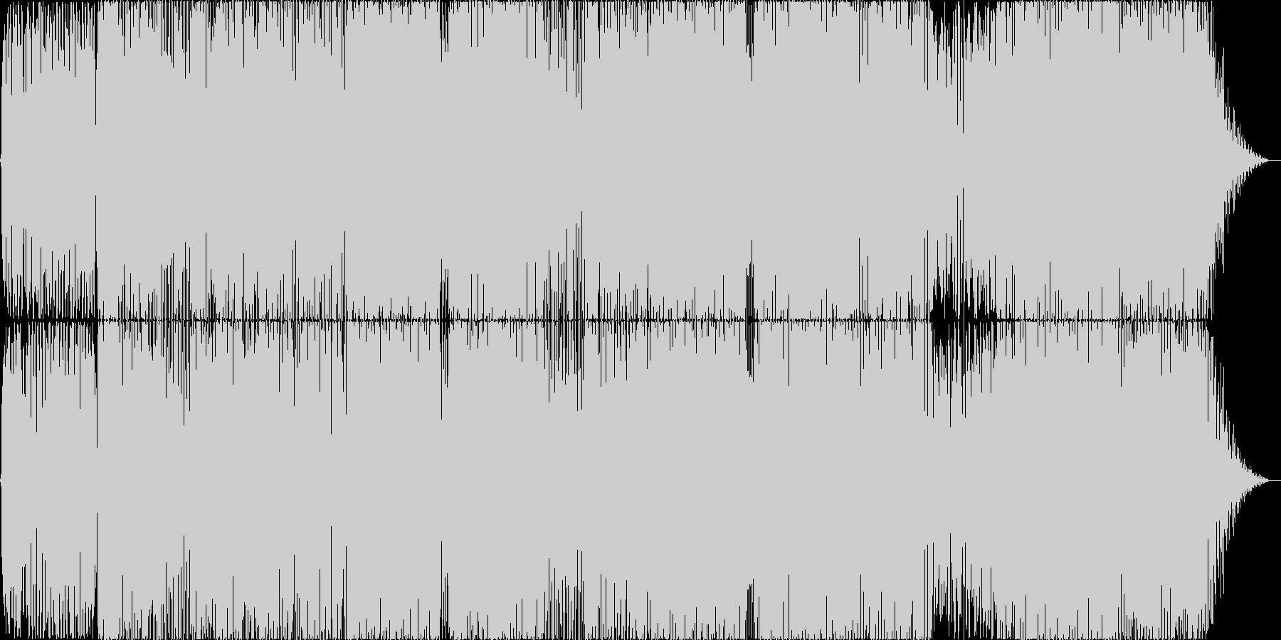 RnB風POPSの未再生の波形