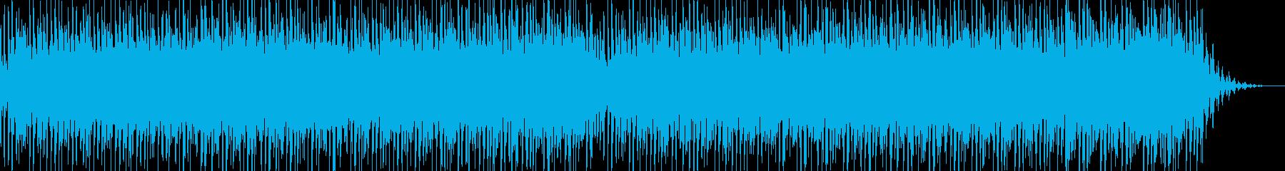 無限に広がる宇宙空間BGMの再生済みの波形