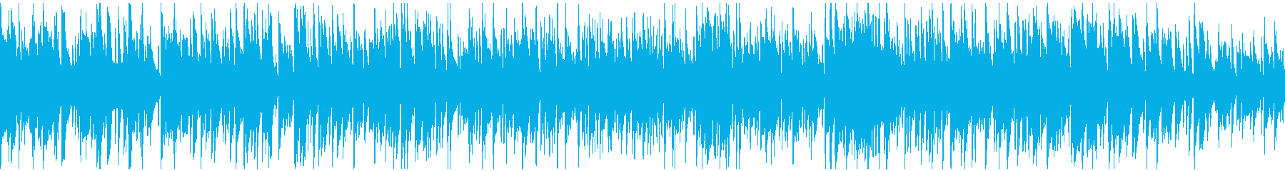 落ち着いた静かなカフェボサノバ※ループ版の再生済みの波形