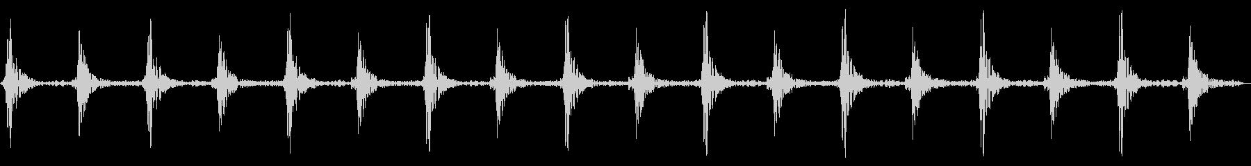 車のワイパーの動作音/連続音/の未再生の波形