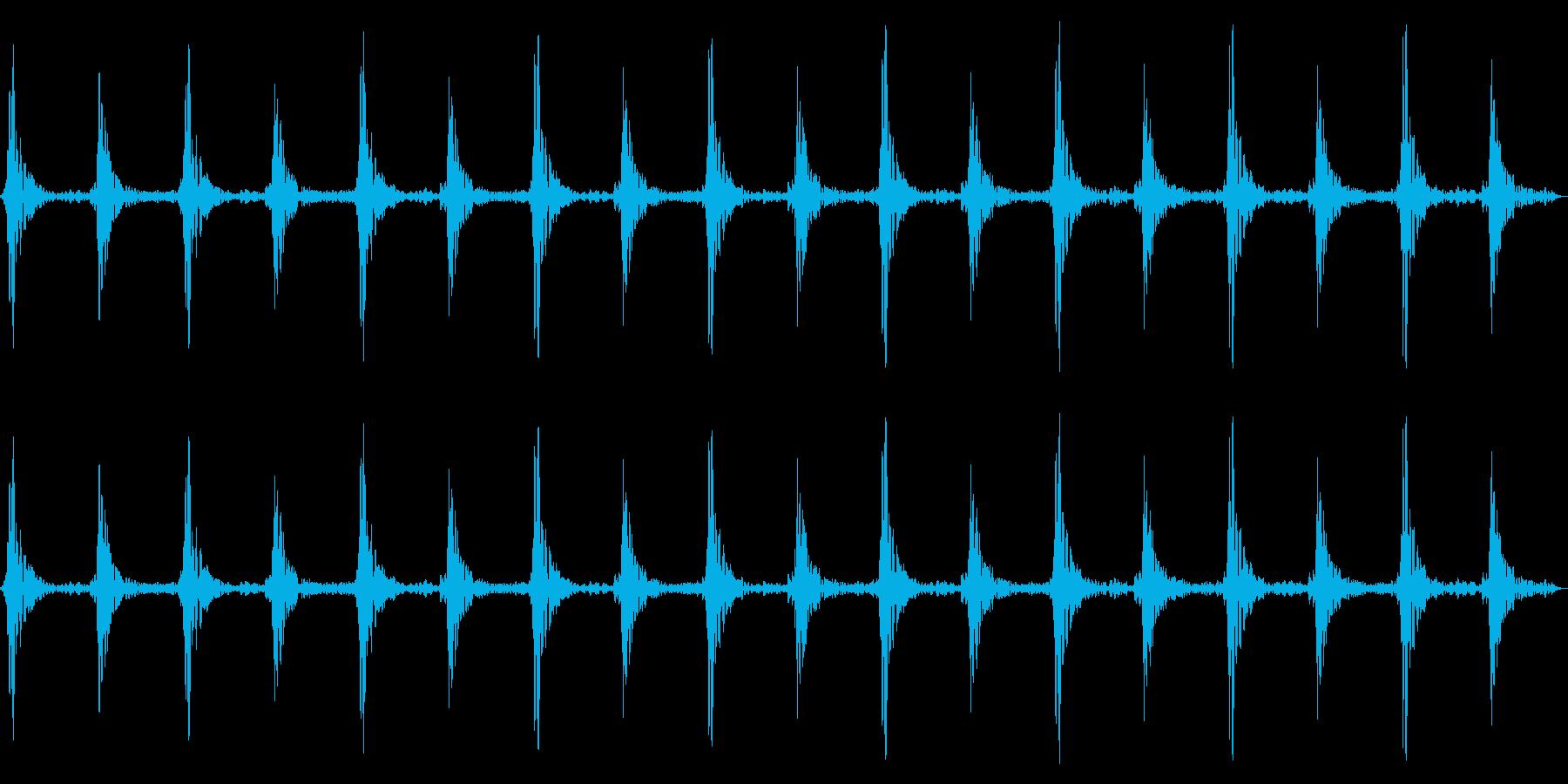 車のワイパーの動作音/連続音/の再生済みの波形