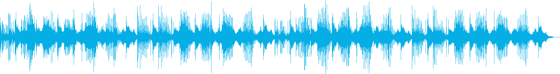 民族楽器を用いたヒーリング音楽の再生済みの波形