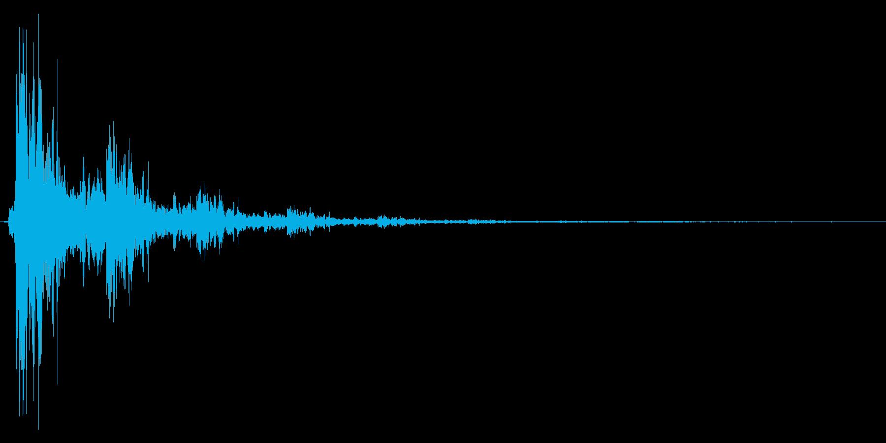 シャン。きらめく・テロップ音(鈴・高)の再生済みの波形