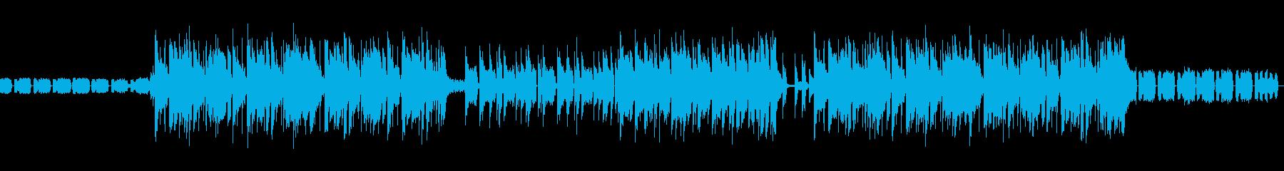 格好いいFuture Bassの再生済みの波形