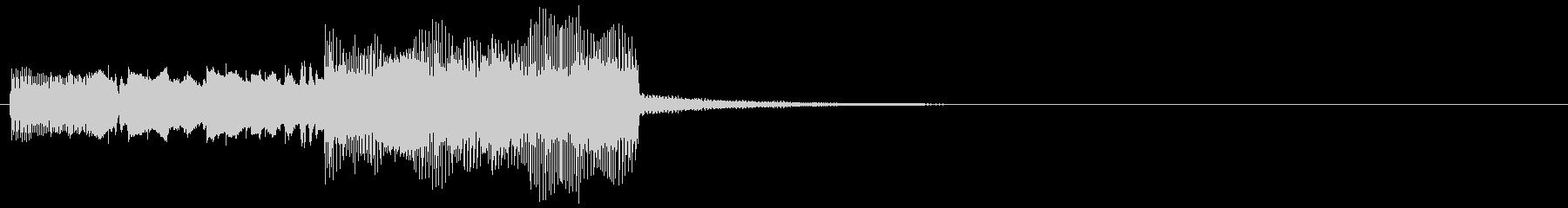 アイキャッチ・決定音・ピコピコの未再生の波形