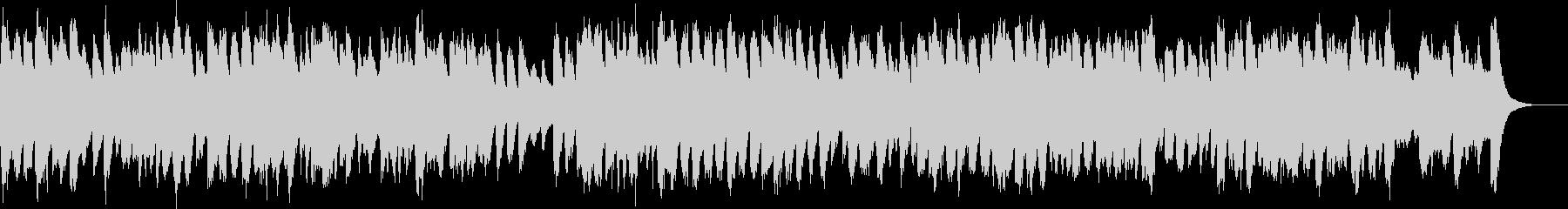 バロック調のハープシコードオリジナル曲の未再生の波形
