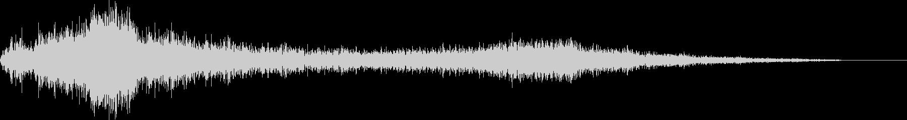 【ホラー】 ダークなタイトルロゴ_15の未再生の波形