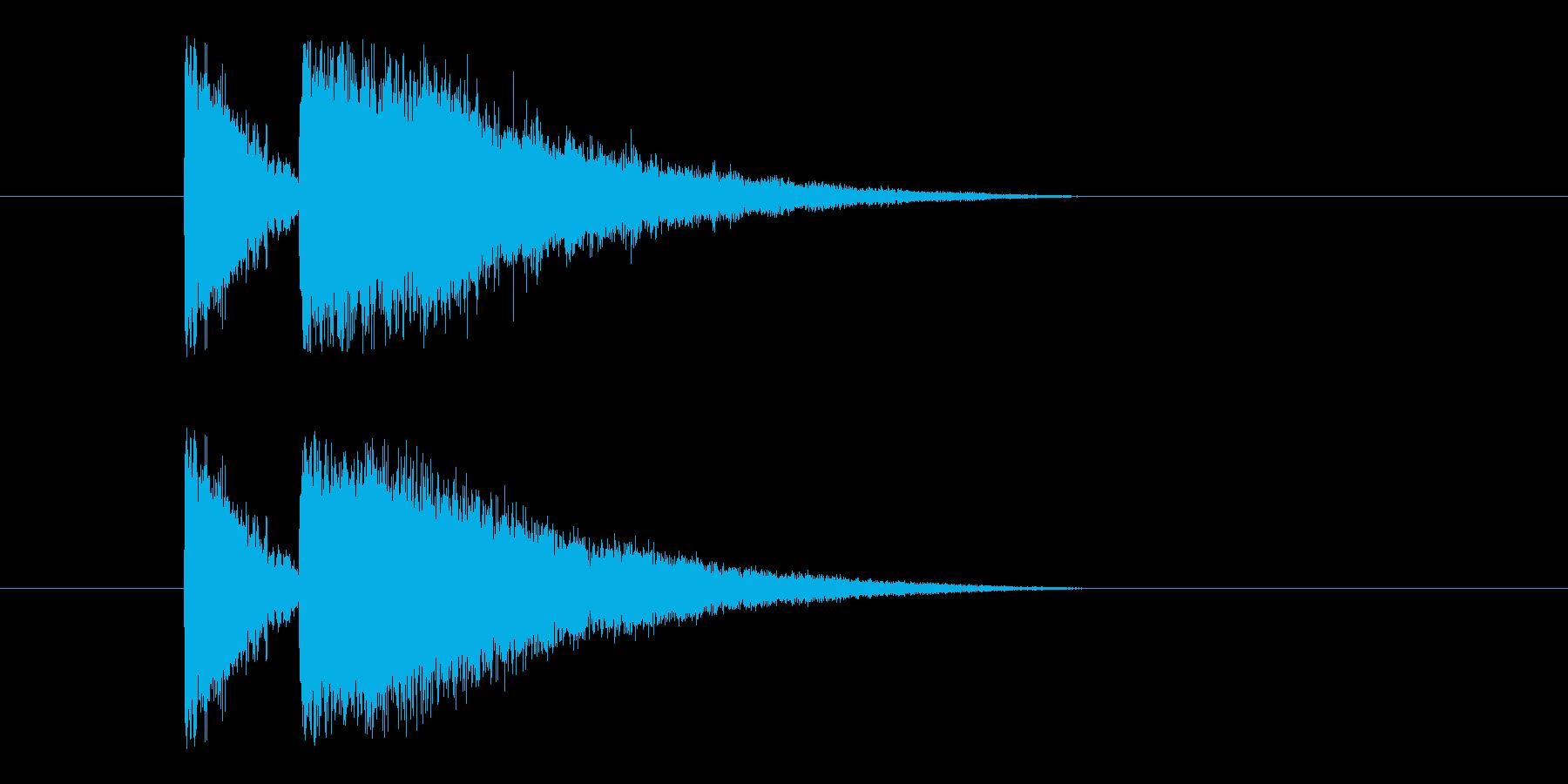 ビームライフル3の再生済みの波形