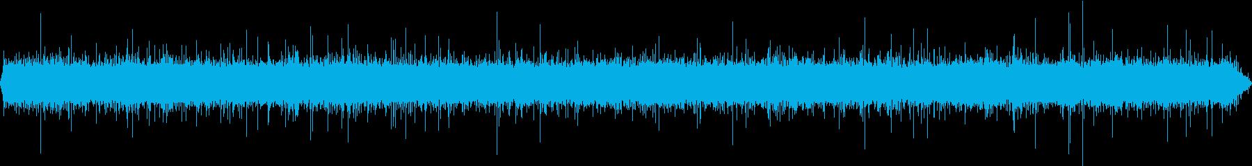 せせらぎの音です。の再生済みの波形