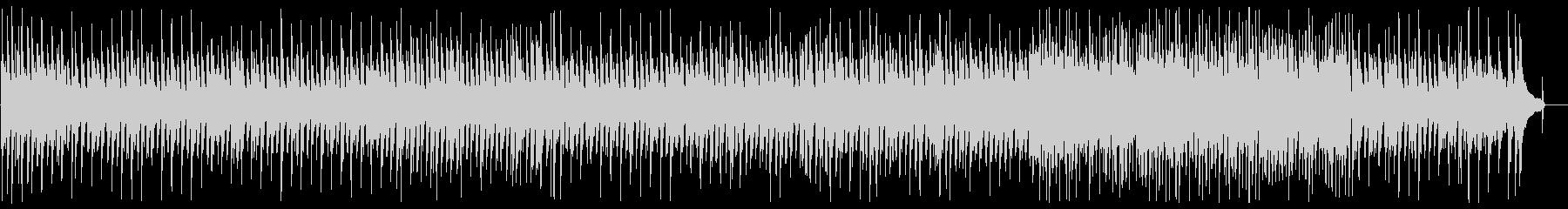 なめらかで軽快なピアノメロディーの未再生の波形