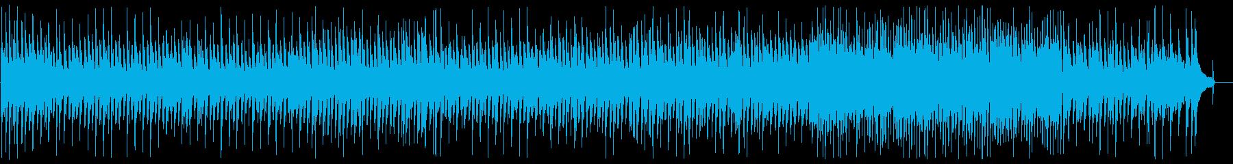 なめらかで軽快なピアノメロディーの再生済みの波形