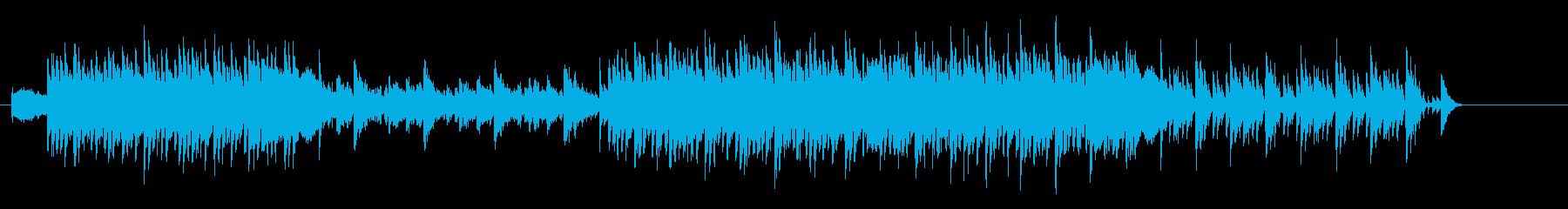 愉快にはじけるエレクトリックなポップスの再生済みの波形