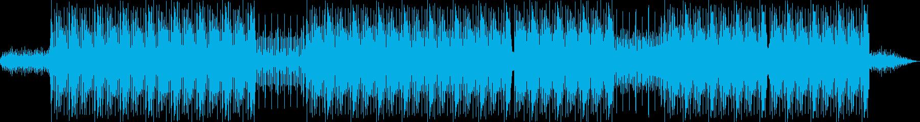 洋楽 ダークUS TRAP HIPHOPの再生済みの波形
