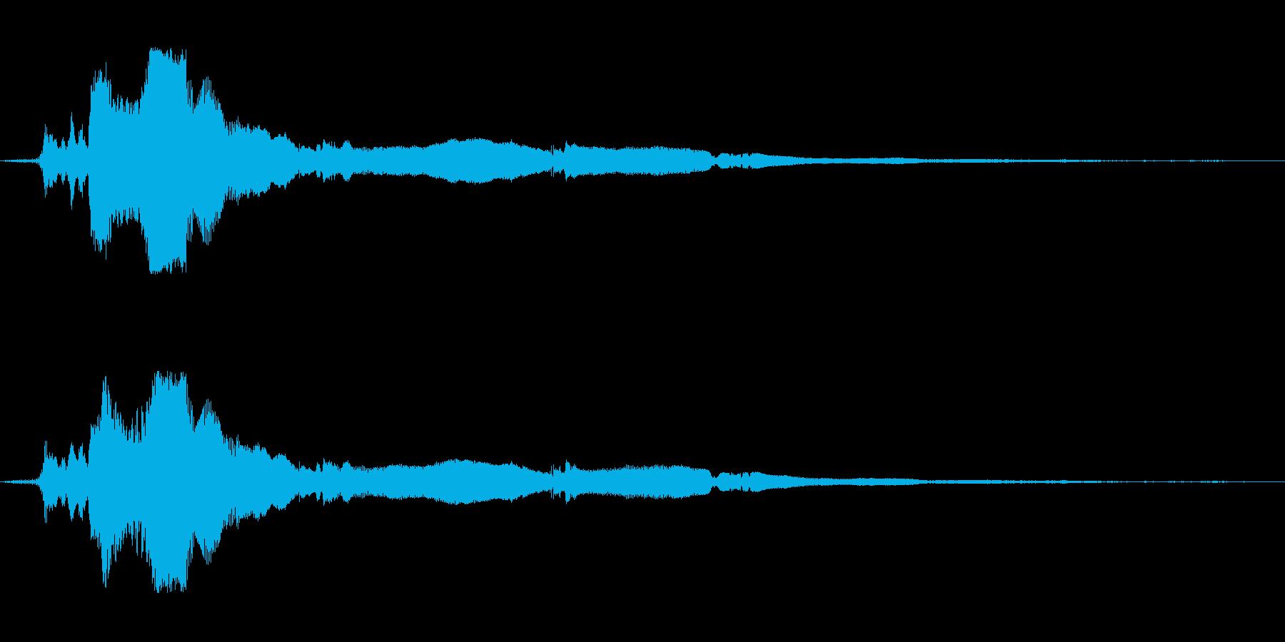 Integraクイック回転、ピール...の再生済みの波形