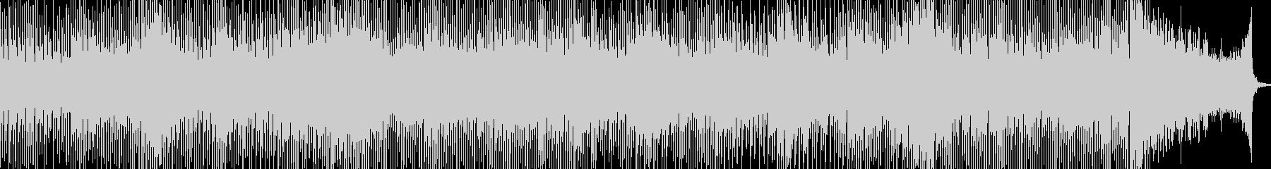 実験的な アクティブ 明るい ほの...の未再生の波形