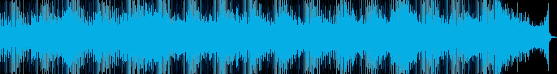 実験的な アクティブ 明るい ほの...の再生済みの波形