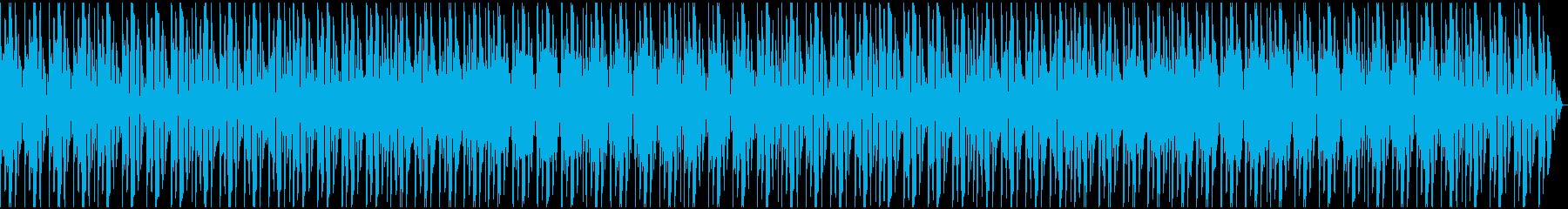 ニュース番組で流れそうな曲1の再生済みの波形