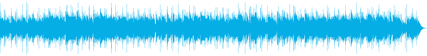 ゆったりしたサックスのバラードの再生済みの波形